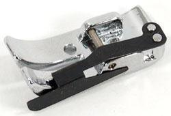 New! Janome Accurate Snap-on 1/4-inch Seam Foot (O2) with Edge Guide (858812006)