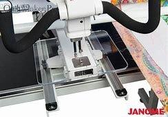 Janome Quilt Maker Pro Ruler base