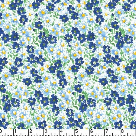 Marshall Dry Goods Flower Patch Navy