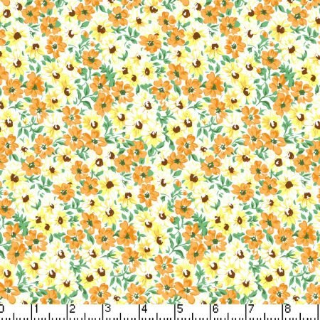 Marshall Dry Goods Flower Patch Gold