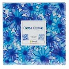 Benartex/Kanvas Color Calypso Blue 10x10 Pack