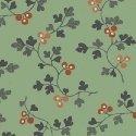 Windham Fabrics Tara Berry Vine Green 51238-3