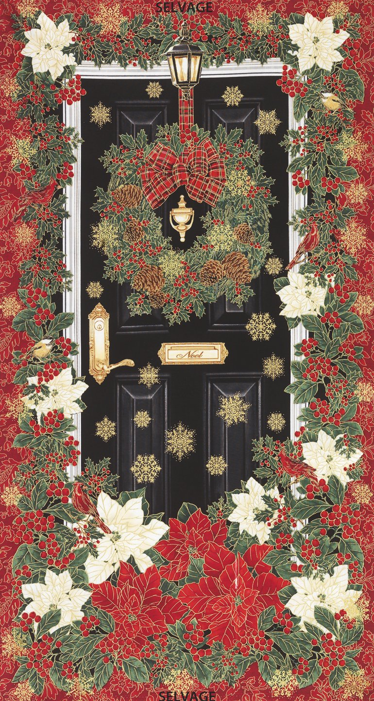 Timeless Treasures Holiday Door Panel # 157