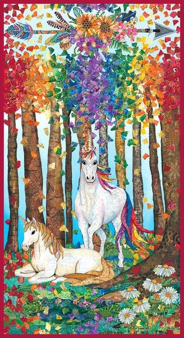 Blank Quilting Unicorn-Ocopia Digital 24 Panel