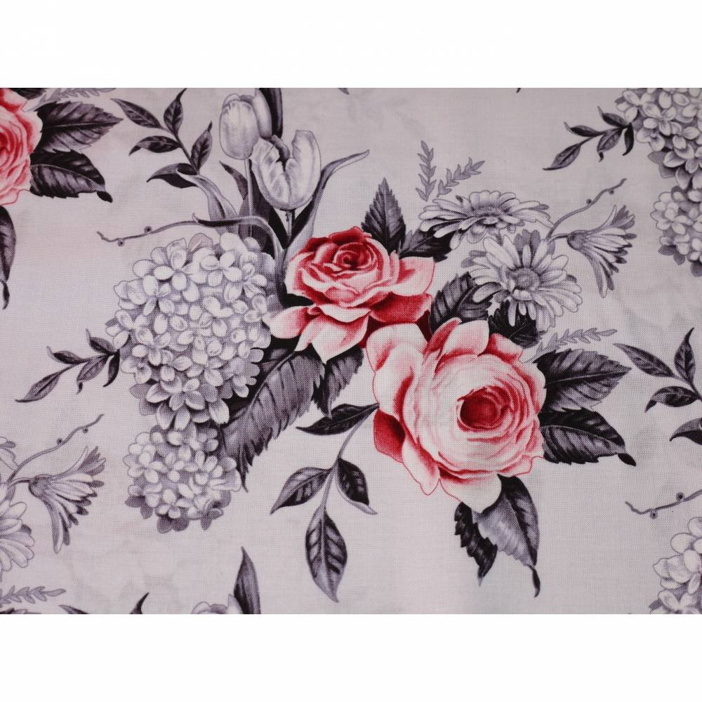 Blank Quilting Florella Large Floral Gray