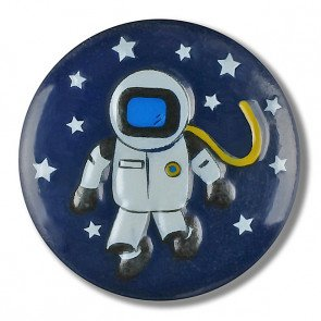 Astronaut Button