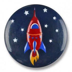 Rocket Ship Button