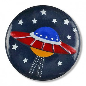 Space Ship Button