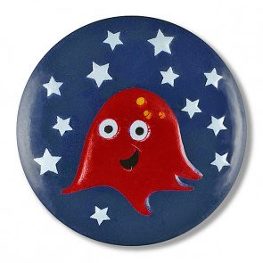 Space Creature Button