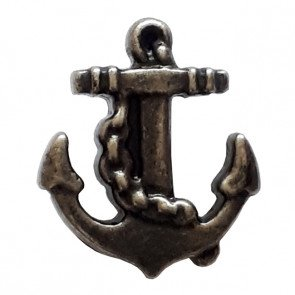 Anchor Button - Metal