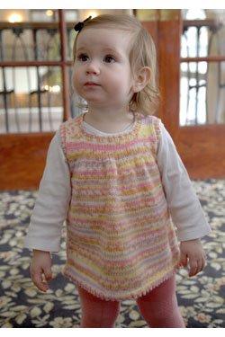 Paintpot Girl's Tunic Dress
