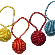 Yarn Ball Stitch Markers