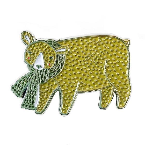 Merriment Bear Enamel Pin