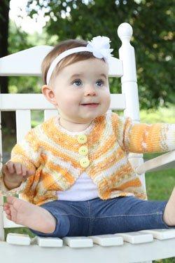 PaintPot Baby's Cardigan