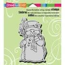 Stampendous - Country Snowman Cling Stamp
