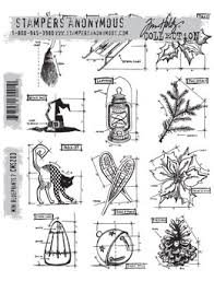 SA - TH Mini Blueprints 7 Cling Stamp