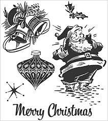 SA - Christmas Memoires Cling Stamp