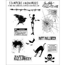 SA - TH Mini Halloween Cling Stamp