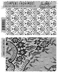 SA - TH Ornate & Lace Cling Stamp