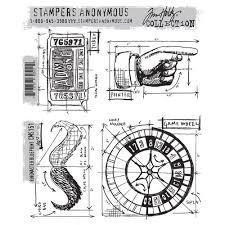 SA - TH Ringmaster Blueprint Cling Stamp