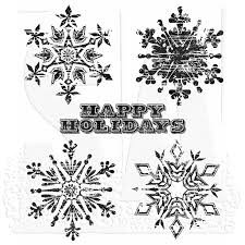 SA - TH Weathered Winter Cling Stamp
