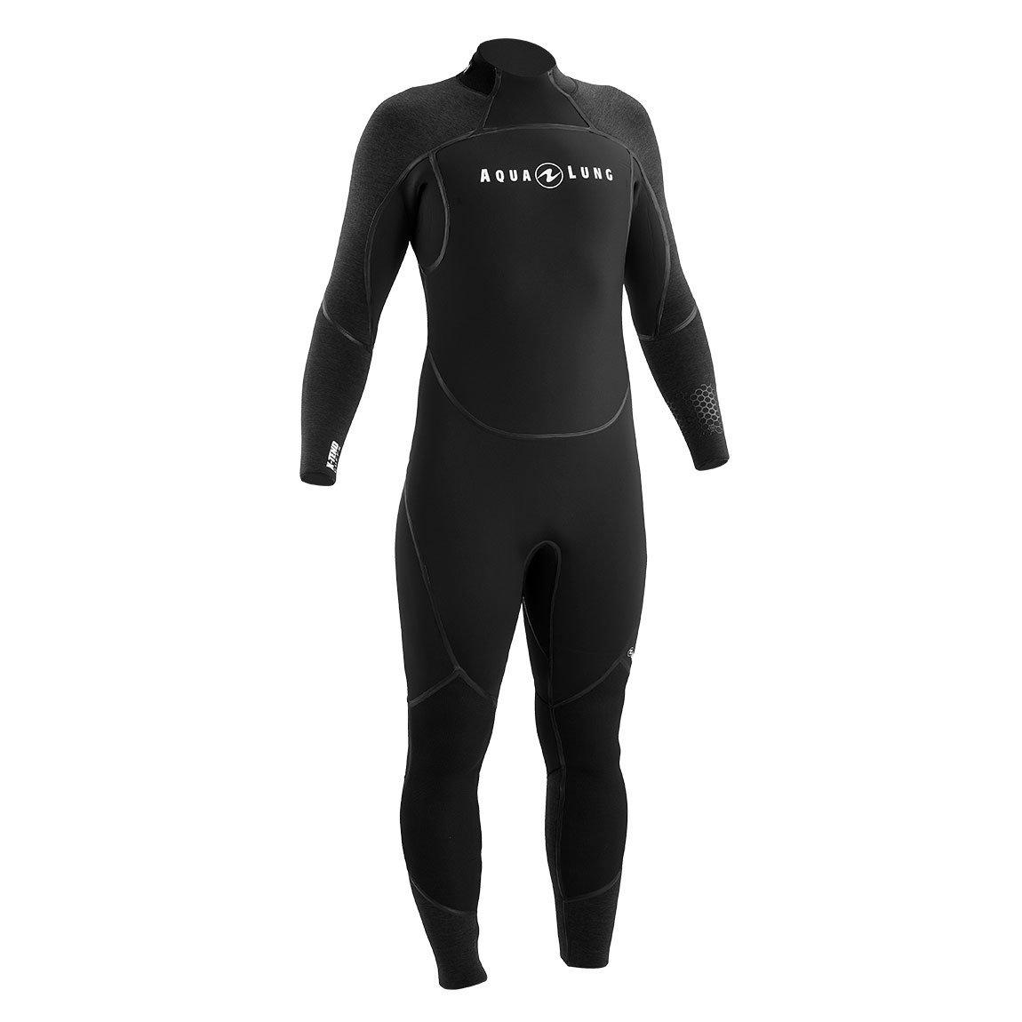 Wetsuit 7mm Aquaflex Men's Black/Charcoal