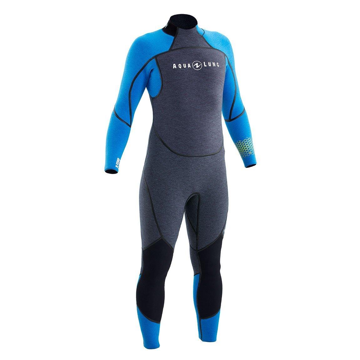Wetsuit 7mm Aquaflex Men's Grey/Blue