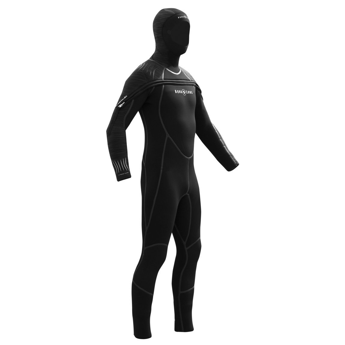 Wetsuit 8mm Men's SOLAFX Black/Charcoal