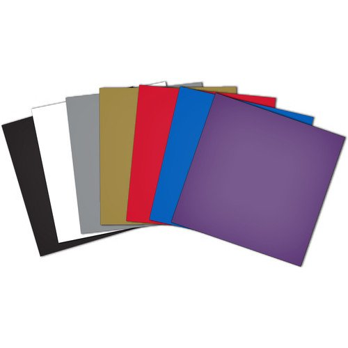 10 Sheets Assorted Craft Vinyl SNC Brother