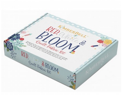 Kimberbell Red White & Bloom Fabric Kit