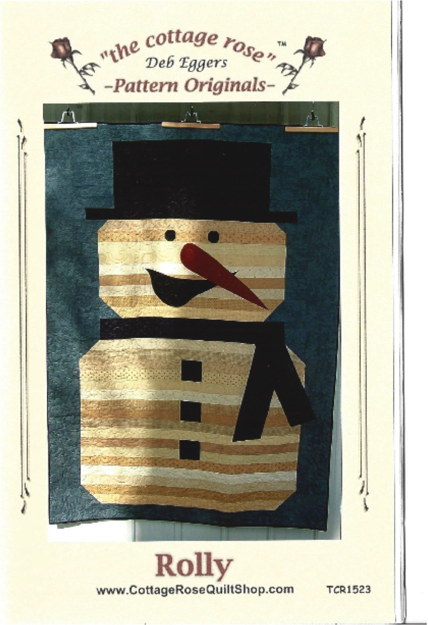 Rolly Snowman Quilt Evening Session
