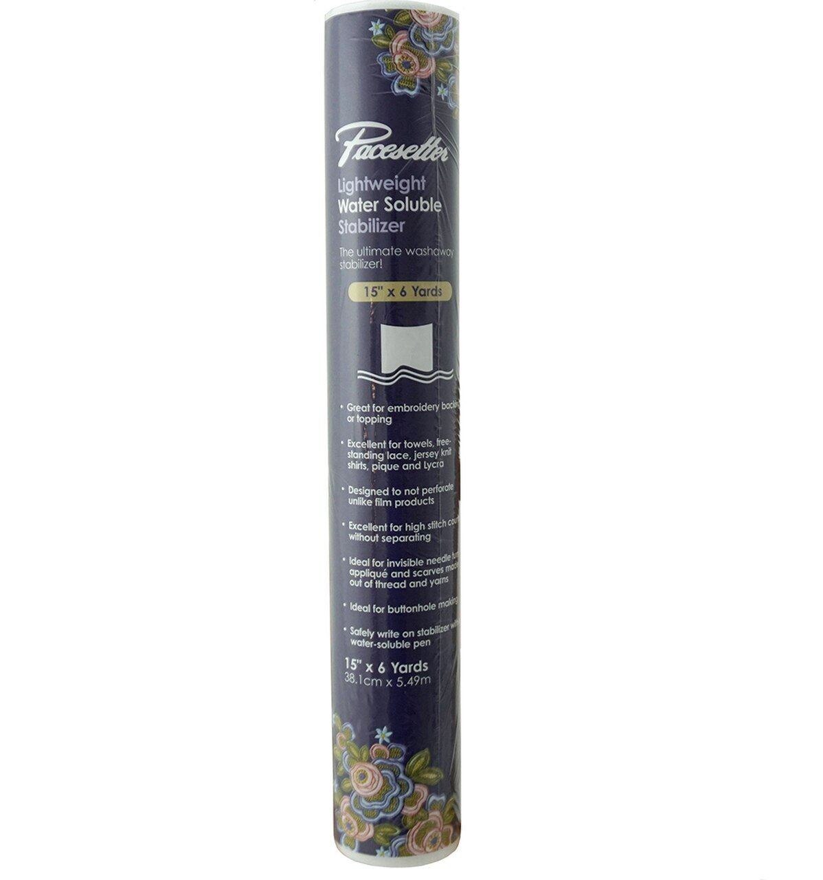 Brother Pacesetter Lightweight Water-Soluble Stabilizer