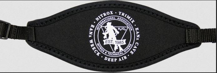 IANTD Mask Strap