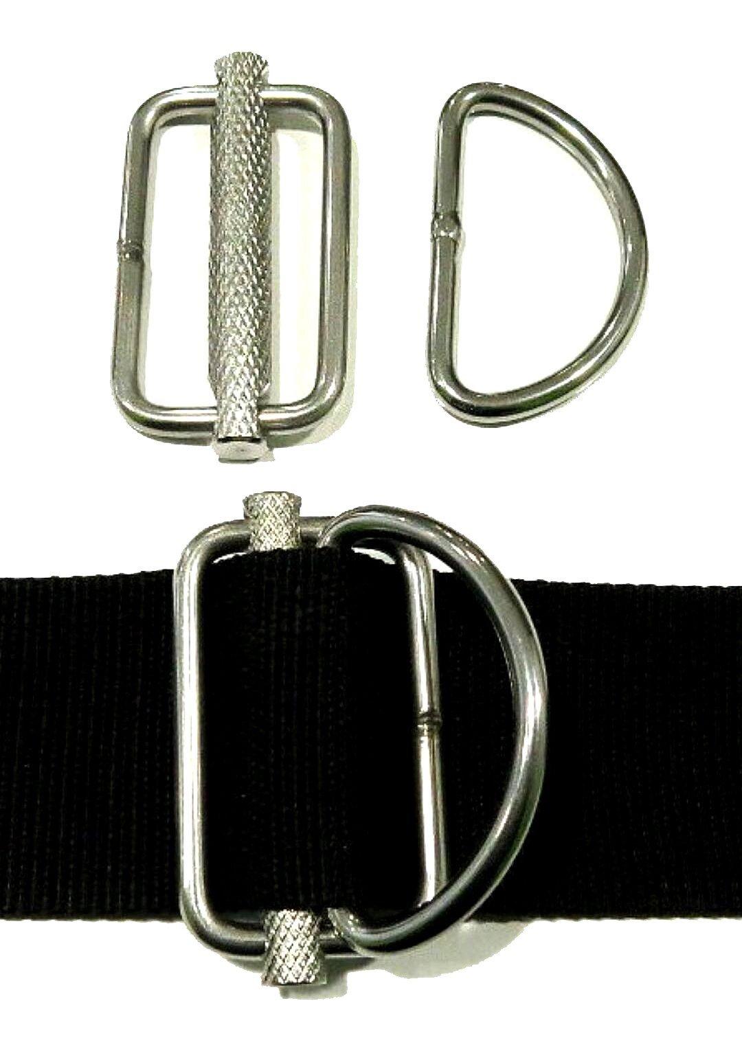 X Deep Slideable D-Rings