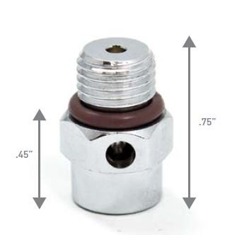 Over Pressure Relief Valve for LP Port