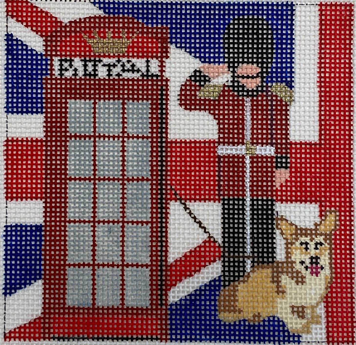 English Guard, Phone Booth, Dog