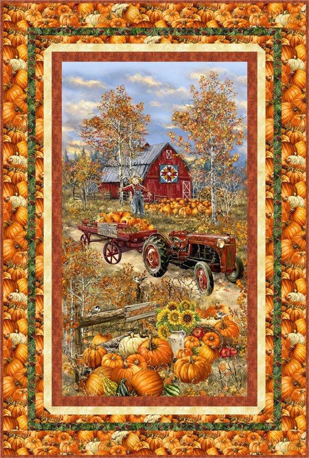 Pumpkin Patch kit 38 x 56.5