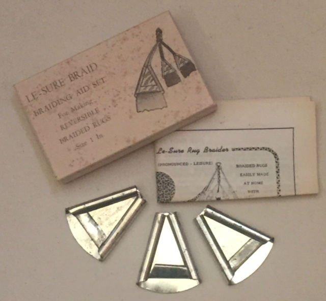Le-Sure Braid - Antique Braiding Aid Set 1