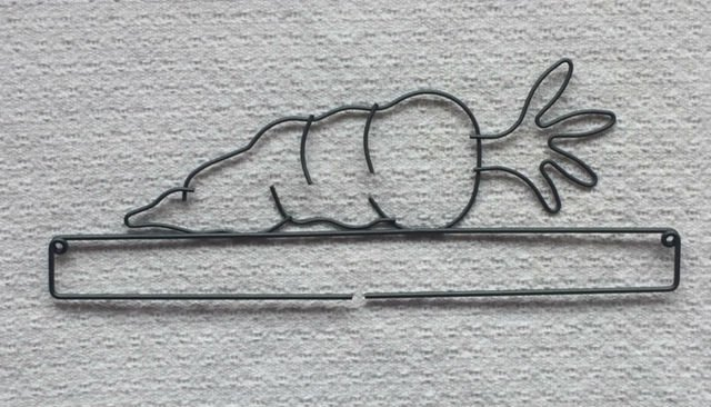 Wire Hanger - Carrot 12