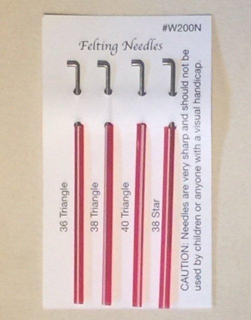 Felting Needles - Assorted Sizes
