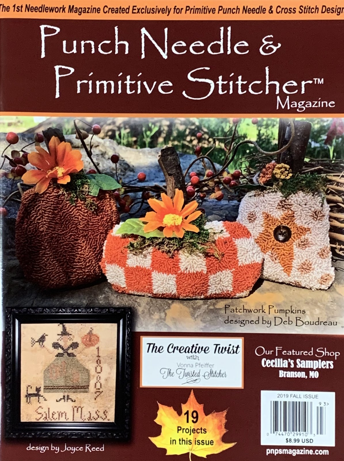 Punch Needle & Primitive Stitcher-Fall 2019