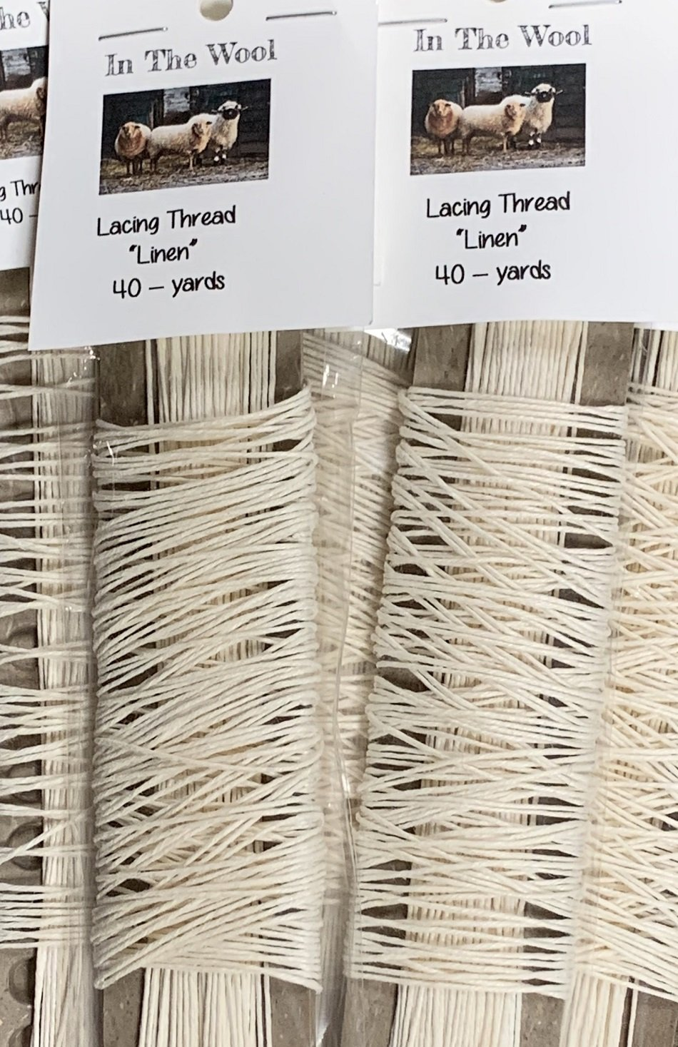 Lacing Thread - Linen/Pack
