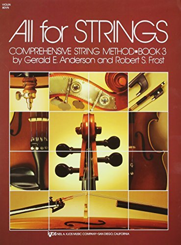 All for Strings, Book 3, Violin