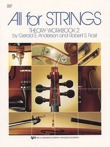 All for Strings, Theory Workbook 2, Violin