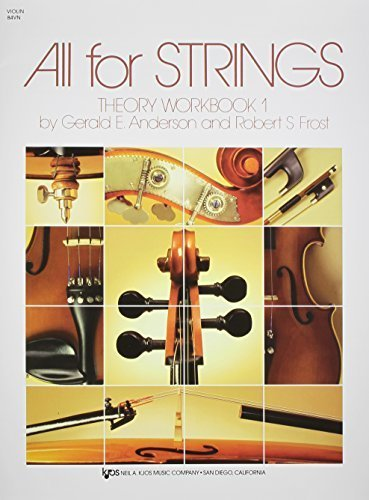 All for Strings, Theory Workbook 1, Violin