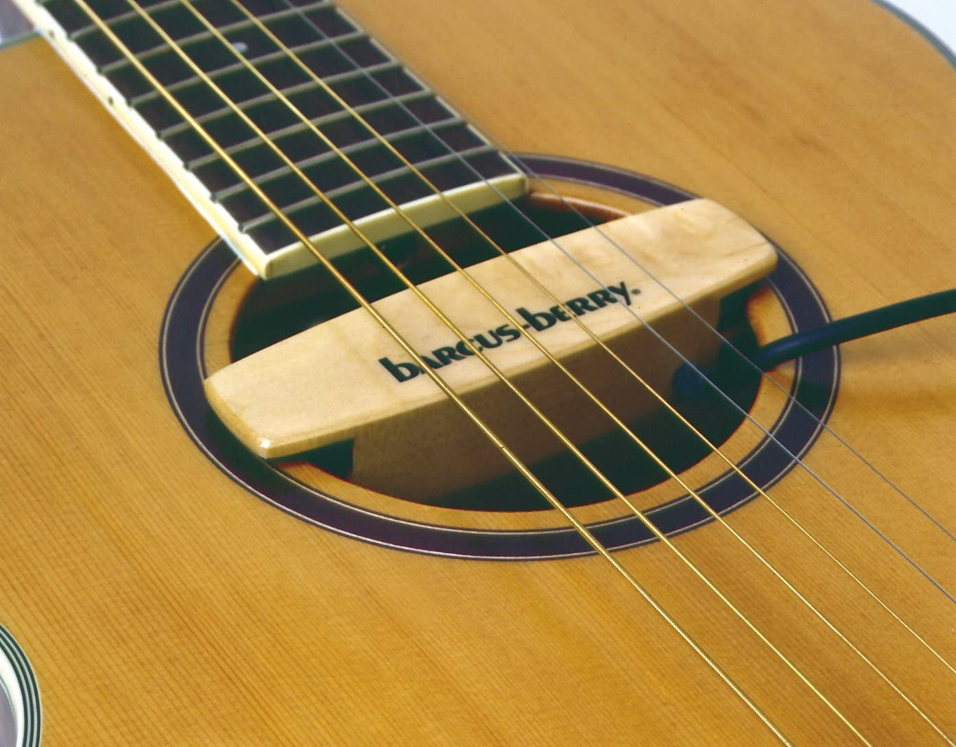Barcus Berry The Maplebar Magnetic Sound-Hole Pickup
