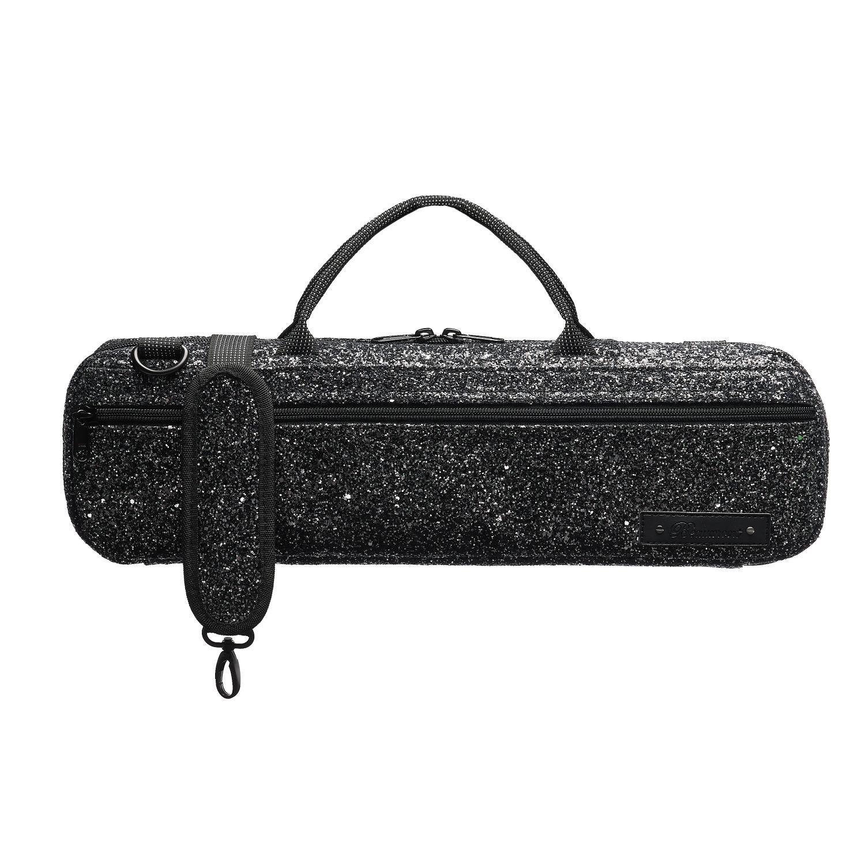 Black Sparkle Flute Bag