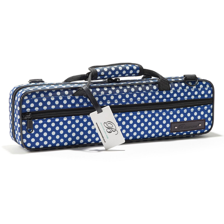 Blue Polka Dot Flute Case