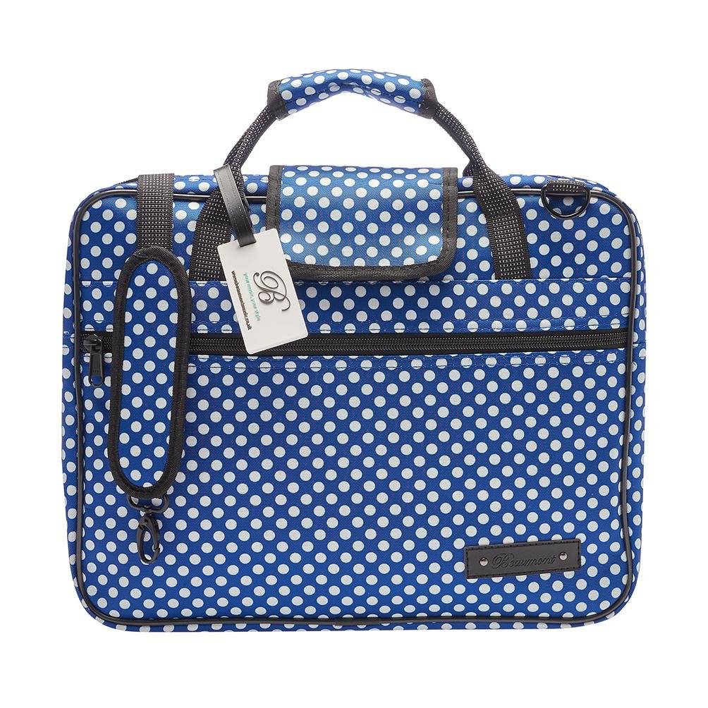 Blue Polka Dot Sheet Music Bag