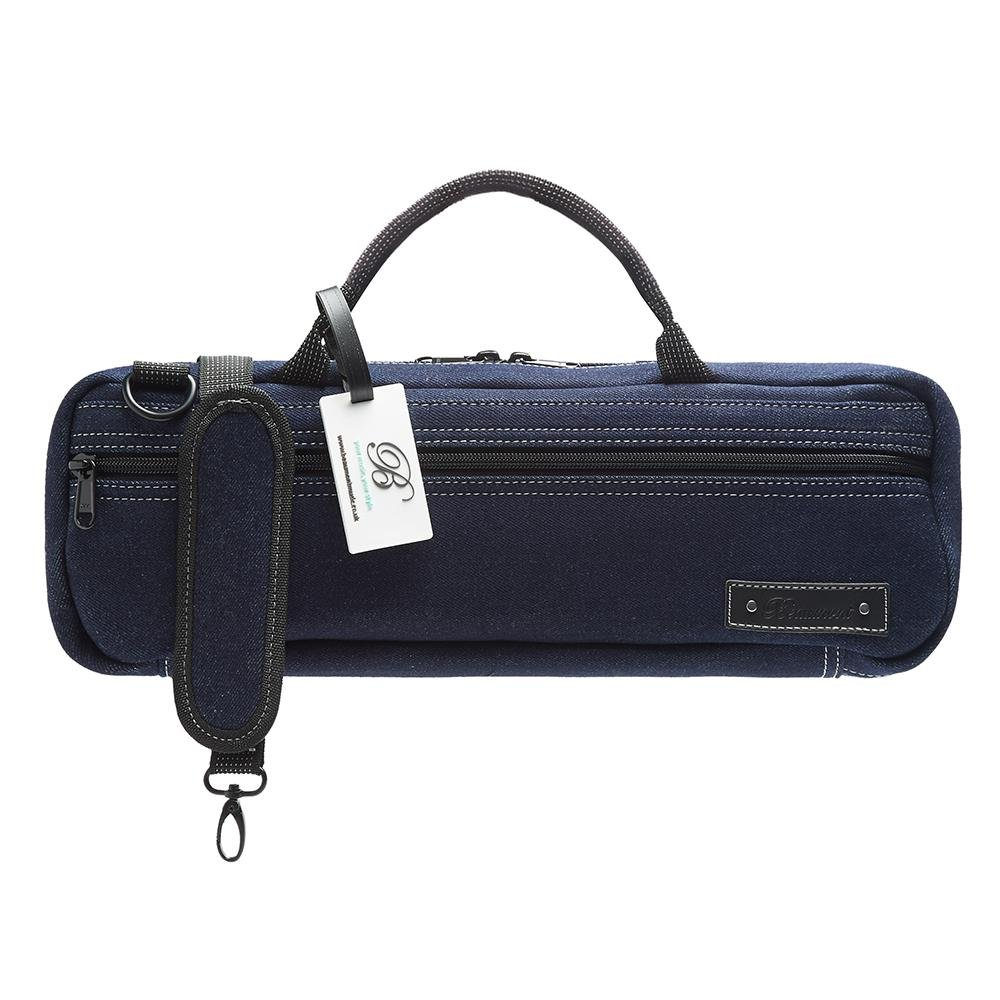 Blue Denim Flute Bag